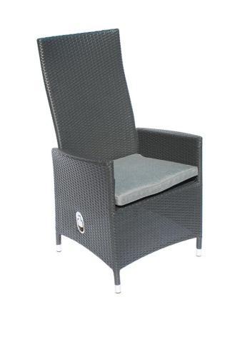 Lydia svart positionsstol