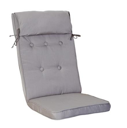 Woodline position med kudde ljusgrå