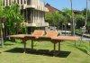 Samos bord rektangulärt 110x195/245/295cm