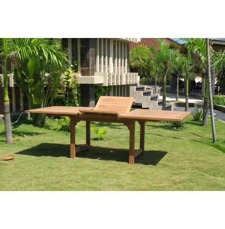 Samos bord rektangulärt 100x180/240cm